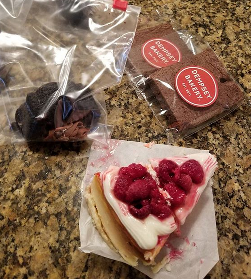 treats from Dempsey bakery