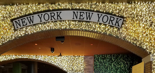 New York New York casino entrance